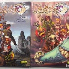Cómics: PACK LULLABY VOLÚMENES 1 Y 2 DE MIKE S. MILLER Y HECTOR SEVILLA. NORMA EDITORIAL 2006-2009. Lote 76981757