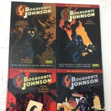 Cómics: BOGAVANTE JOHNSON 1 2 3 4 (COLECCIÓN COMPLETA 4 TOMOS) - MIKE MIGNOLA, JASON ARMSTRONG - NORMA. Lote 77313534