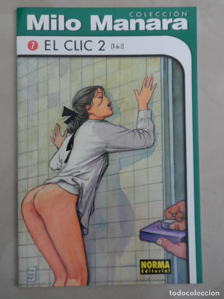 COLECCION MILO MANARA EL CLIC 2 (1 DE 2) - POSIBLE ENVÍO GRATIS - NORMA - NÚMERO 7 (Tebeos y Comics - Norma - Comic Europeo)