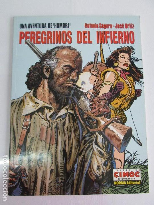Cómics: PEREGRINOS DEL INFIERNO. ANTONIO SEGURA. JOSE ORTIZ. EDITORIAL NORMA. CIMOC. COMIC. VER FOTOS - Foto 6 - 77556661