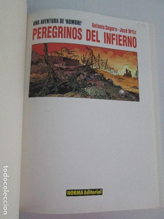 Cómics: PEREGRINOS DEL INFIERNO. ANTONIO SEGURA. JOSE ORTIZ. EDITORIAL NORMA. CIMOC. COMIC. VER FOTOS - Foto 7 - 77556661