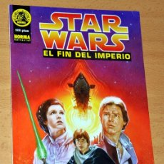 Cómics: STAR WARS - EL FIN DEL IMPERIO - TOM VEITCH / JIM BAIKIE - TOMO PRESTIGE - NORMA EDITORIAL 1996. Lote 77633257