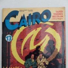 Cómics: REVISTA CAIRO Nº13 - TARDI TORRES BELTRAN E IDEAS NEGRAS. Lote 78278489
