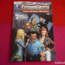 Cómics: STORMWATCH POST HUMAN DIVISION 1 ( CHRISTOS CAGE DOUG MAHNKE ) ¡MUY BUEN ESTADO! NORMA WILDSTORM. Lote 78536749