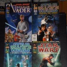 Cómics: LOTE 4 COMICS STAR WARS – NORMA EDITORIAL. Lote 79303477