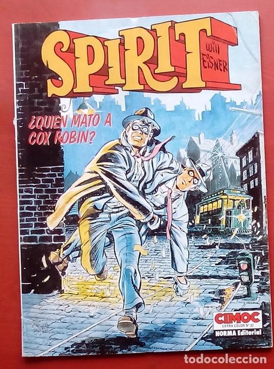 CIMOC EXTRA COLOR / EXTRA COLOR - SPIRIT. ¿QUIÉN MATÓ A COX ROBIN? DE WILL EISNER (Tebeos y Comics - Norma - Comic USA)