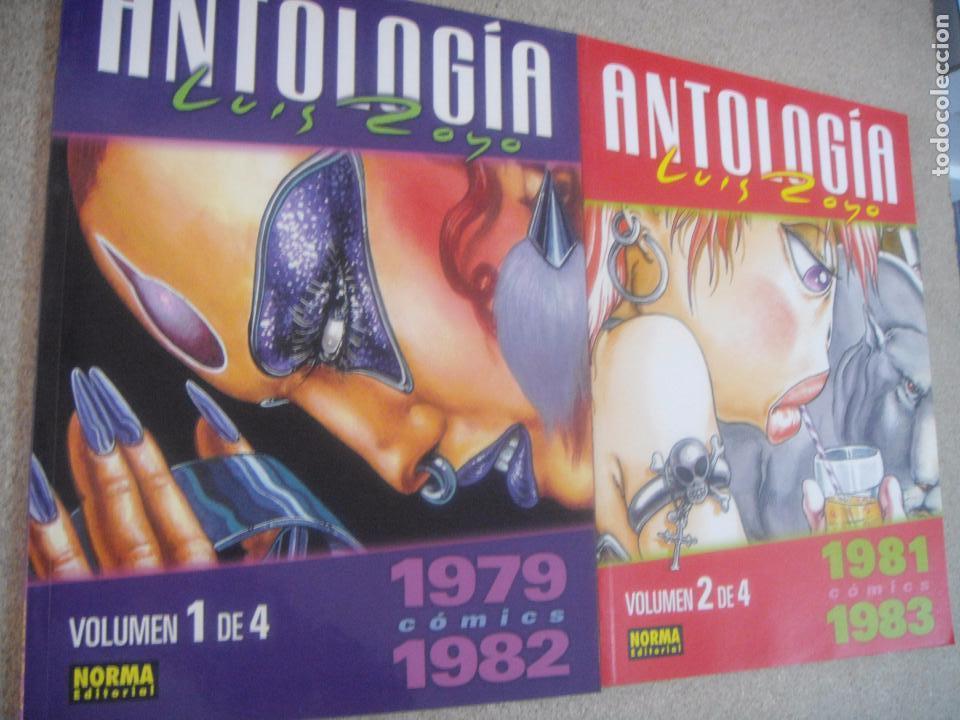 ANTOLOGÍA LUIS ROYO - TOMOS 1 Y 2 DE 4 - ED. NORMA (Tebeos y Comics - Norma - Comic USA)