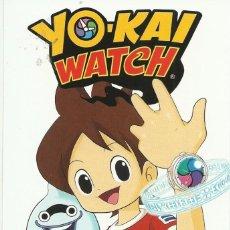 Cómics: POSTAL EDITORIAL NORMA YO KAI WATCH. Lote 80413133
