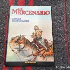 Cómics: EL MERCENARIO NÚMERO 1 - 1982 - EL PUEBLO DEL FUEGO SAGRADO. Lote 80434461