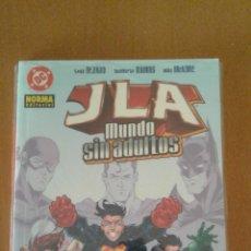 Cómics: JLA : MUNDO SIN ADULTOS ( NORMA EDITORIAL ). Lote 80560214