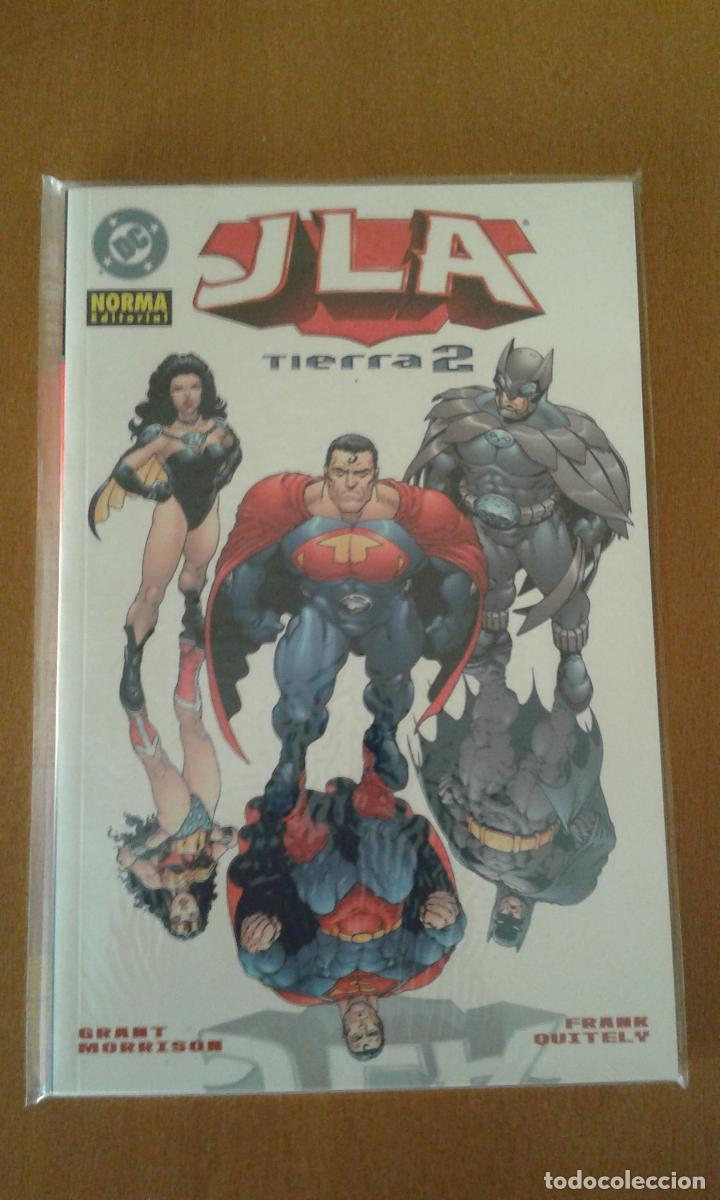 JLA : TIERRA 2 ( NORMA EDITORIAL ) (Tebeos y Comics - Norma - Comic USA)