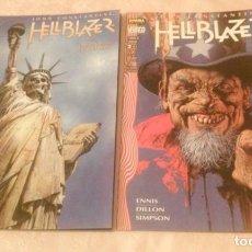 Cómics: HELLBLAZER. LLAMAS DE CONDENA. COMPLETA. NORMA EDITORIAL. Lote 96820042