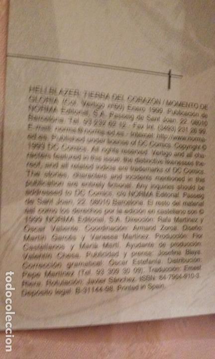 Cómics: JOHN CONSTANTINE HELLBLAZER COMICS NÚMEROS 49 Y 60 (NORMA-VERTIGO) - Foto 6 - 81132652