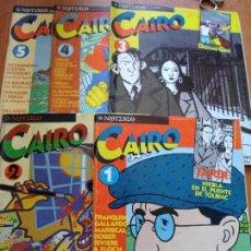 Cómics: EL CAIRO LOS 5 PRIMEROS NUMEROS. Lote 81166856