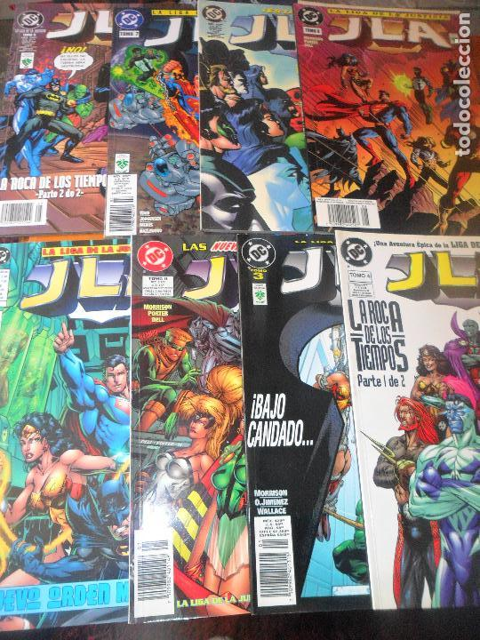 JLA LIGA DE LA JUSTICIA DE GRANT MORRISON 8 TOMOS - EDITORIAL VID - (Tebeos y Comics - Norma - Comic USA)