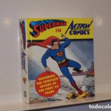 Cómics: SUPERMAN IN ACTION COMICS FEATURING THE COMPLETE COVERS OF THE FIRST 25 YEARS EN INGLES UNICO EN TC. Lote 81959548