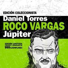 Cómics: CÓMICS. ROCO VARGAS. JÚPITER. COFRE EDICIÓN COLECCIONISTA - DANIEL TORRES (CARTONÉ). Lote 82046252