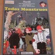 Cómics: TARDI – CIMOC EXTRA COLOR Nº 124 – ADÉLE BLANC-SEC – TODOS MONSTRUOS – NUEVO (PRECINTADO). Lote 260410545