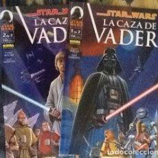 Cómics: STAR WARS LA CAZA DE VADER. Lote 82476592