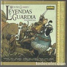 Cómics: MOUSE GUARD: LEYENDAS DE LA GUARDIA 2, 2015, NUEVO, PRECINTADO. Lote 82489108