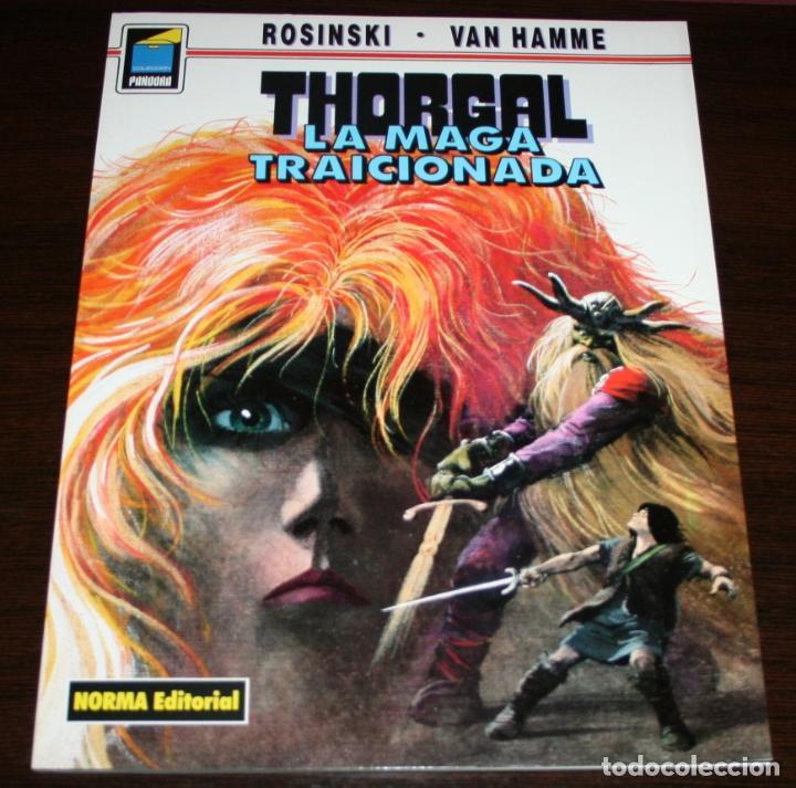 THORGAL - LA MAGA TRAICIONADA - ROSINSKI/VAN HAMME - COL. PANDORA Nº 41 - NORMA - 1993 (Tebeos y Comics - Norma - Comic Europeo)