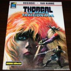 Cómics: THORGAL - LA MAGA TRAICIONADA - ROSINSKI/VAN HAMME - COL. PANDORA Nº 41 - NORMA - 1993. Lote 82516696