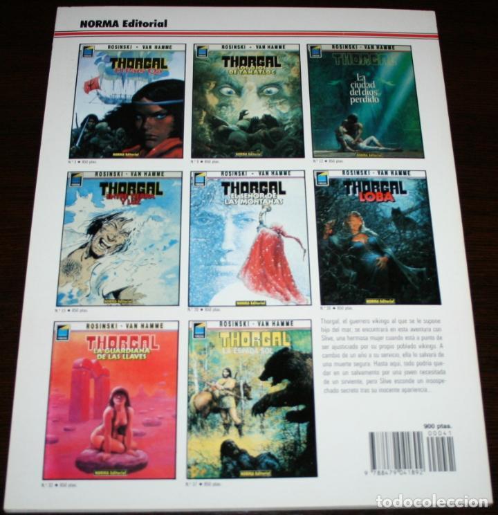Cómics: THORGAL - LA MAGA TRAICIONADA - ROSINSKI/VAN HAMME - COL. PANDORA Nº 41 - NORMA - 1993 - Foto 2 - 82516696