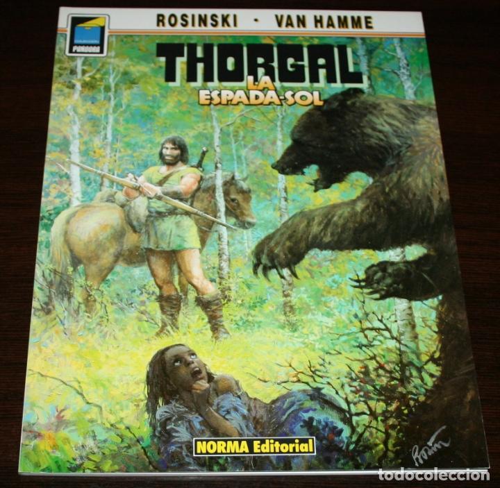 THORGAL - LA ESPADA SOL - ROSINSKI/VAN HAMME - COL. PANDORA Nº 37 - NORMA - 1992 (Tebeos y Comics - Norma - Comic Europeo)