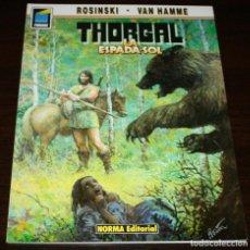 Cómics: THORGAL - LA ESPADA SOL - ROSINSKI/VAN HAMME - COL. PANDORA Nº 37 - NORMA - 1992. Lote 82516700