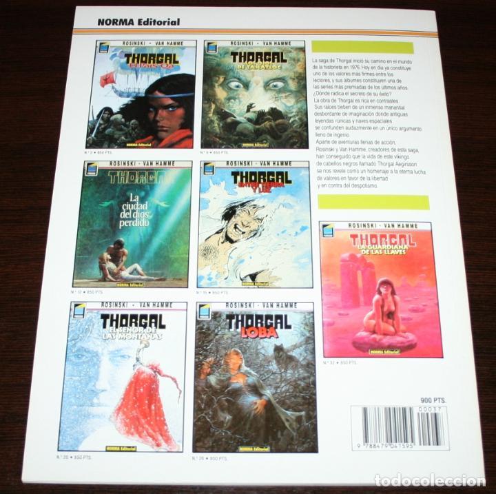 Cómics: THORGAL - LA ESPADA SOL - ROSINSKI/VAN HAMME - COL. PANDORA Nº 37 - NORMA - 1992 - Foto 2 - 82516700