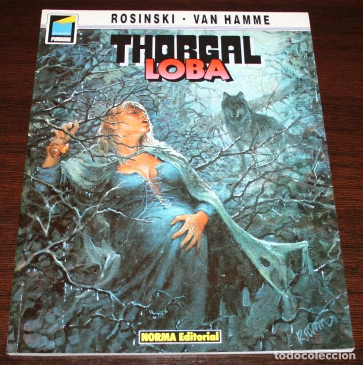 THORGAL - LOBA - ROSINSKI/VAN HAMME - COL. PANDORA Nº 26 - NORMA - 1992 (Tebeos y Comics - Norma - Comic Europeo)