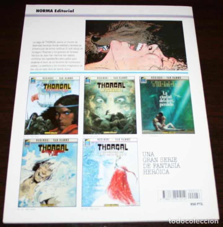 Cómics: THORGAL - LOBA - ROSINSKI/VAN HAMME - COL. PANDORA Nº 26 - NORMA - 1992 - Foto 2 - 82516756
