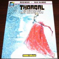 Cómics: THORGAL - EL SEÑOR DE LAS MONTAÑAS - ROSINSKI/VAN HAMME - COL. PANDORA Nº 20 - NORMA - 1991. Lote 82516776