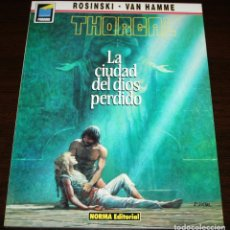 Cómics: THORGAL - LA CIUDAD DEL DIOS PERDIDO - ROSINSKI/VAN HAMME - COL. PANDORA Nº 12 - NORMA - 1990. Lote 82516848