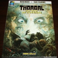 Cómics: THORGAL - LOS OJOS DE TANATLOC - ROSINSKI/VAN HAMME - COL. PANDORA Nº 9 - NORMA - 1990. Lote 82516892