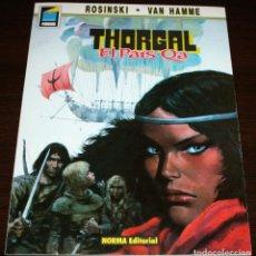 Cómics: THORGAL - PAIS QA - ROSINSKI/VAN HAMME - COL. PANDORA Nº 3 - NORMA - 1990. Lote 82516920