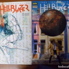 Cómics: HELLBLAZER. JOHN CONSTANTINE. EN LA LÍNEA DE FUEGO 1 Y 2 DE 2. VERTIGO - NORMA EDITORIAL. Lote 82764556