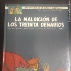 Cómics: BLAKE Y MORTIMER 19 - LA MALDICION DE LOS 30 DENARIOS - PRIMERA PARTE. Lote 83286980