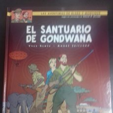 Cómics: BLAKE Y MORTIMER 18. EL SANTUARIO DE GONDWANA - YVES SENTE, ANDRÉ JUILLARD - NORMA EDITORIAL. Lote 83287111