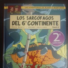 Cómics: BLAKE Y MORTIMER 17. LOS SARCÓFAGOS DEL 6º CONTINENTE TOMO 2 - YVES SENTE, ANDRÉ JUILLARD - NORMA. Lote 89273406