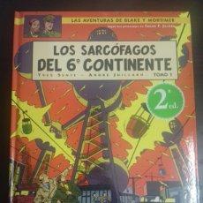 Cómics: BLAKE Y MORTIMER 16. LOS SARCÓFAGOS DEL 6º CONTINENTE TOMO 1 - YVES SENTE, ANDRÉ JUILLARD - NORMA. Lote 89273367