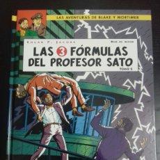Cómics: BLAKE Y MORTIMER 12. LAS 3 FÓRMULAS DEL PROFESOR SATO - EDGAR P. JACOBS, BOB DE MOOR - NORMA. Lote 83288039