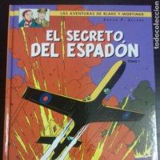 Cómics: BLAKE Y MORTIMER 9. EL SECRETO DEL ESPADÓN TOMO 1 - EDGAR P. JACOBS - NORMA EDITORIAL. Lote 83288428