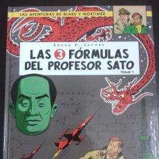 Cómics: BLAKE Y MORTIMER 8. LAS 3 FÓRMULAS DEL PROFESOR SATO TOMO 1 - EDGAR P. JACOBS - NORMA EDITORIAL. Lote 83288555