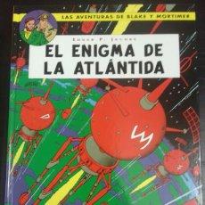 Cómics: BLAKE Y MORTIMER 4. EL ENIGMA DE LA ATLÁNTIDA - EDGAR P. JACOBS - NORMA EDITORIAL. Lote 83288827