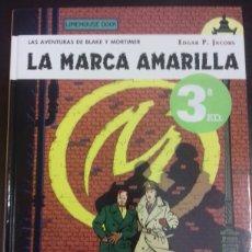 Cómics: BLAKE Y MORTIMER 3. LA MARCA AMARILLA - EDGAR P. JACOBS - NORMA EDITORIAL. Lote 83288899