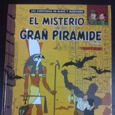 Cómics: BLAKE Y MORTIMER 1. EL MISTERIO DE LA GRAN PIRÁMIDE - EDGAR P. JACOBS - NORMA EDITORIAL. Lote 83289080