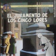 Cómics: BLAKE Y MORTIMER 21. EL JURAMENTO DE LOS CINCO LORES - YVES SENTE, ANDRÉ JUILLARD - NORMA EDITORIAL. Lote 83289955