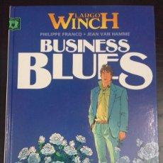 Cómics: LARGO WINCH 4. BUSINESS BLUES - PHILIPPE FRANCQ, JEAN VAN HAMME - NORMA. Lote 83292428