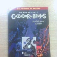 Cómics: SIR EDWARD GREY CAZADOR DE BRUJAS #2 PERDDO PARA SIEMPRE. Lote 83313876